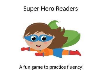 Super Hero Fluency Game
