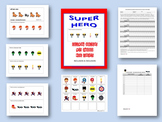 Super Hero-Following Directions With Embedded Concepts-Inc