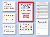 Super Hero-Following Directions With Embedded Concepts-Locational