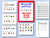 Super Hero-Following Directions With Embedded Concepts-Temporal