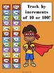 Super Hero Fry Words Clip Chart