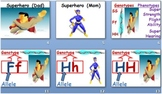 Super Hero Genetics Visuals for Super Hero Genetics Worksheet