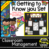 Super Hero Getting to Know You Poster Set