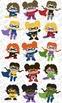 Super Hero Girls Digital Clip Art