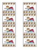 Super Hero Good Behavior Punch Cards