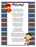 Super Hero Goodie Bags Poem