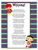 Super Hero Goodie Bags Poem