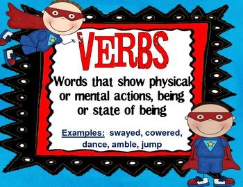 Super Hero Grammar