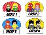 Super Hero Groups