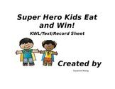 Super Hero Healthy Eating