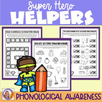 First Sounds: Super Hero Helper Program