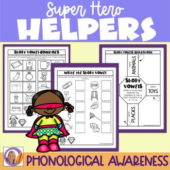 Short Vowels: Super Hero Helper Program