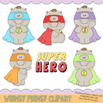 Super Hero Hippo's