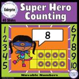 Super Hero - How Many to 10? Ten Frames - Google Classroom