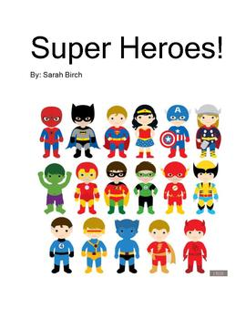 Super Hero Interactive Book
