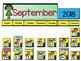 Super Hero Interactive Calendar For Regular and Space-Saving Calendars