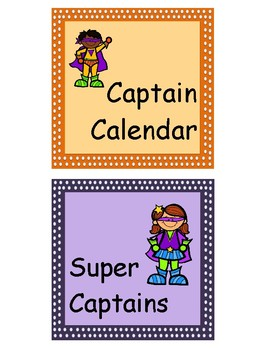 Super Hero Job Chart