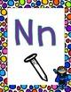 Super Hero Kids Alphabet Posters