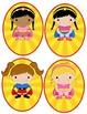 Super Hero Kids Ovals to put outside classroom