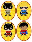 Super Hero Kids Ovals to put outside classroom