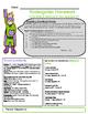 Homework Cover SUPERHERO Editable Template