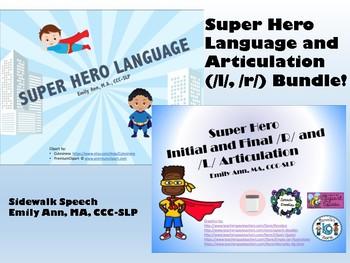 Super Hero Language & Super Hero L and R Articulation Bundle