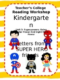 Super Hero Letters Teach Super Powers ~EDITABLE~