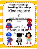 Super Hero Letters Teach Super Powers ~EDITABLE~