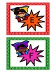 Super Hero Library Labels