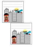 Super Hero Locker Tags