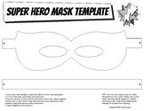 Super Hero Mask Template
