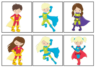 Super Hero Matching