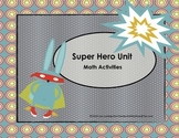Super Hero Math Activities