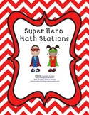 Super Hero Math Center