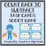 Super Hero Math: Count Back to Subtract