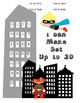 Super Hero Math Data Notebook Assessments