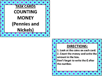 Super Hero Math: Money- Counting Pennies and Nickels