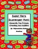 Super Hero Math: Numerals, Ten Frames Counting