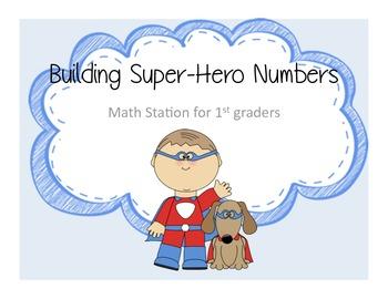 Super Hero Math Stations