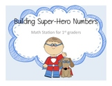 Super Hero Math Stations