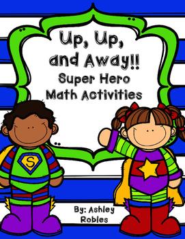 Super Hero Math Task Cards