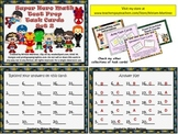 Super Hero Math Test Prep Task Cards - Set 2.
