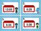 Super Hero Math: Writing Time on a Clock