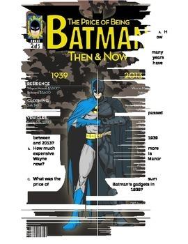 Batman v Superman: Super Hero Maths: Project on All Operations