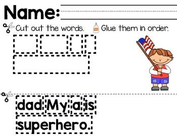 Super Hero Mentor Sentence