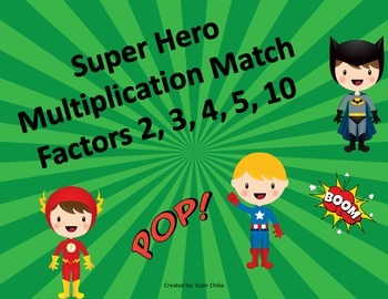 Super Hero Multiplication