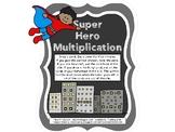 Super Hero Multiplication FREEBIE