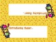Super Hero Desk Name Tags -- Female Heroes on Yellow Background