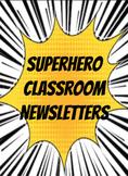 Super Hero Newsletter {EDITABLE}