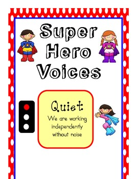 Super Hero Noise Meter